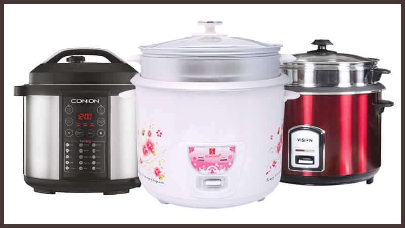 The Types of Rice Cooker