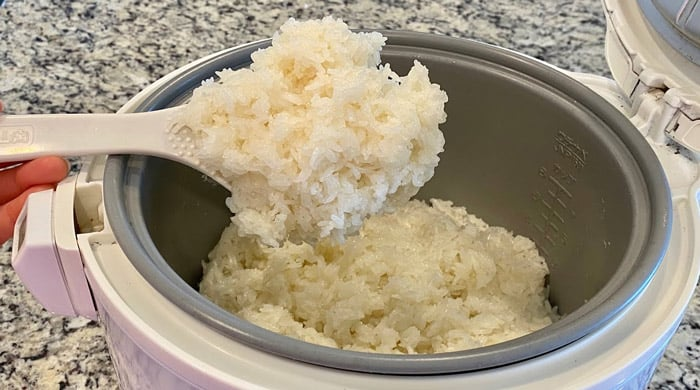Cooking Sticky Rice In A Rice Cooker