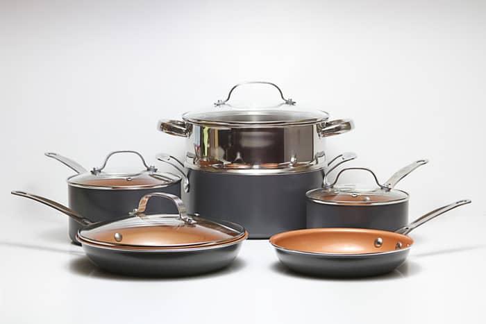 Cooking on Copper Versus