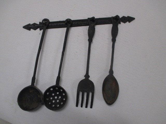 Cast iron Spoons