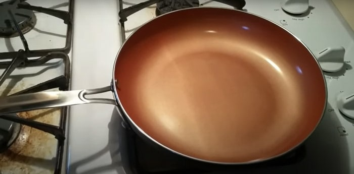 Season Your Red Copper Pan