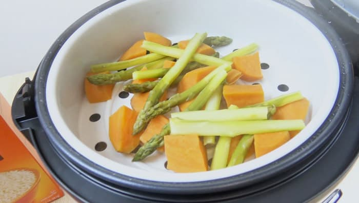 Steam Vegetables In A Rice Cooker