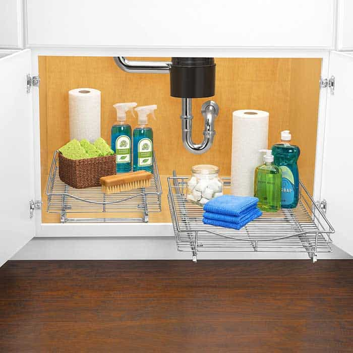 Pull Out Organizers for Pots and Pans