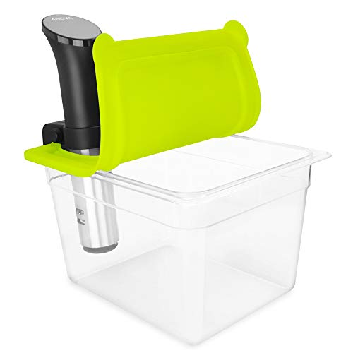 EVERIE Sous Vide Container with Universal Silicone Lid