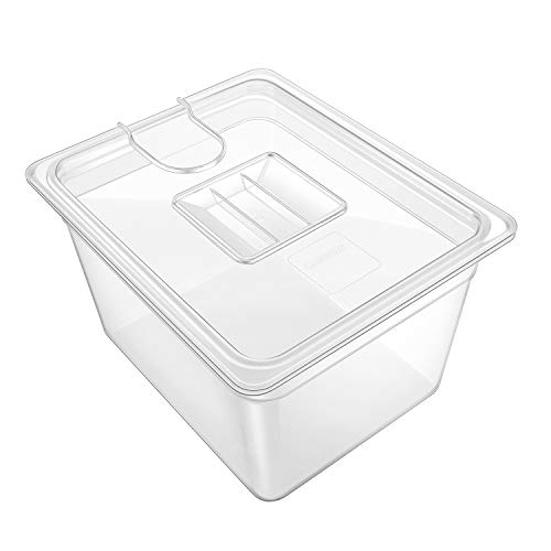 GEESTA Crystal-Clear Sous Vide Container