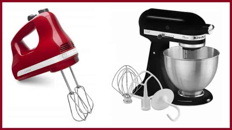 Hand Mixer vs. Stand Mixer