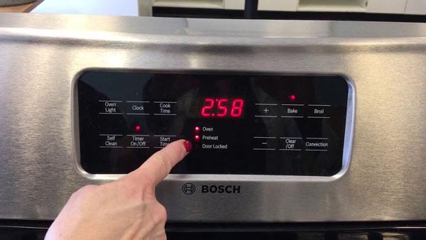 Preheat the Oven