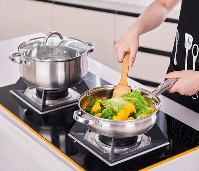 Stainless Steel Cookware Without Aluminum