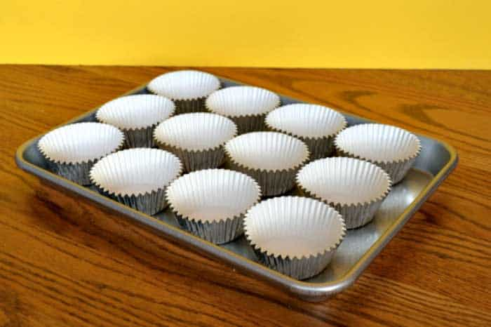 Bake Cupcakes without Liners
