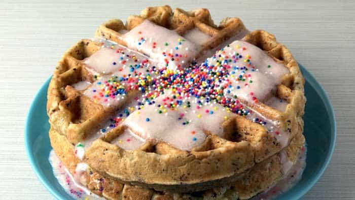 Make Some Cake Waffles