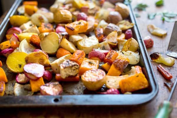 Pan for Roasting Vegetables