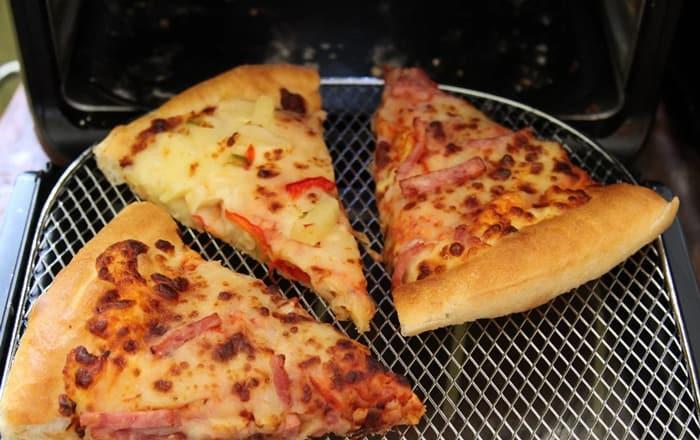 Reheat pizza in an Air Fryer