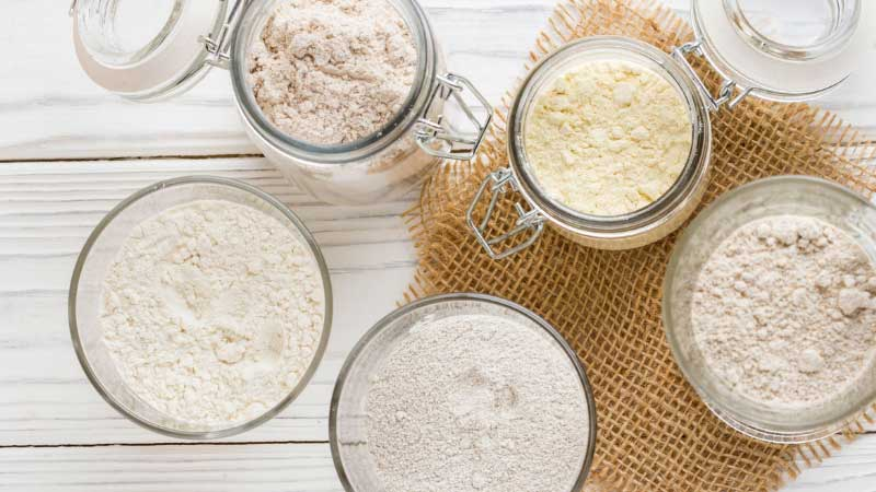 Types of Flour Used for Baking