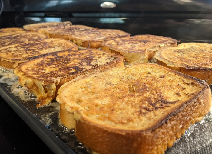 Can you make French toast on a griddl