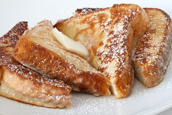 French toast soggy