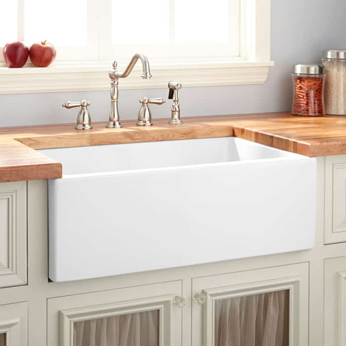 How deep is standard kitchen sink