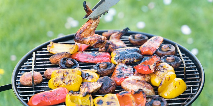 How do you keep a charcoal grill going