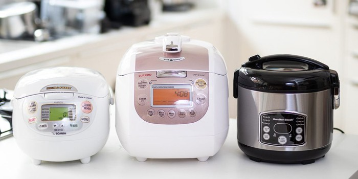 a Japanese rice cooker