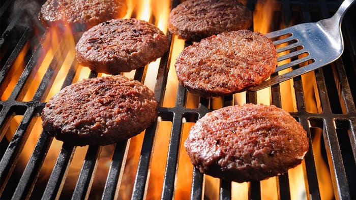 burgers from sticking on a griddle