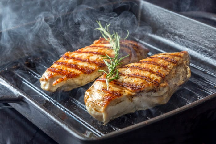 cook fish on a griddle