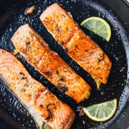 cook salmon on the griddle